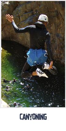 Canyoning, Parc aventure en Corse